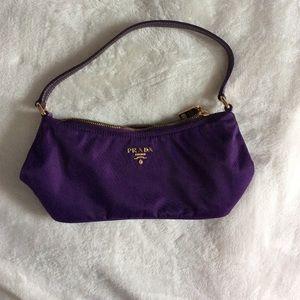 Prada Tessuto+Vernice Viola mini-bag